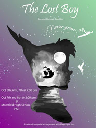 The Lost Boy Theatre Poster
